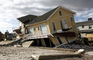 Severe storms and other disasters bring risk for real estate investments.