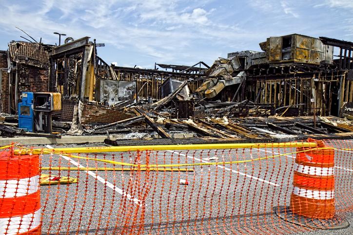 demolished restaurant