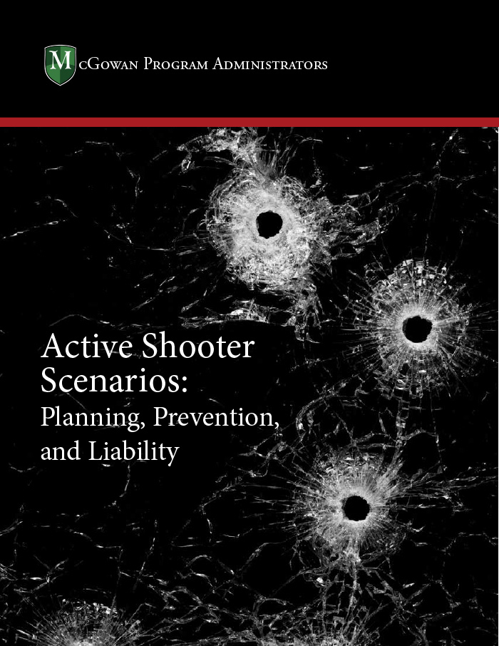 active shooter insurance scenarios: planning, prevention, and liability ebook