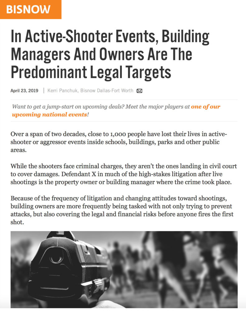 BISNOW article