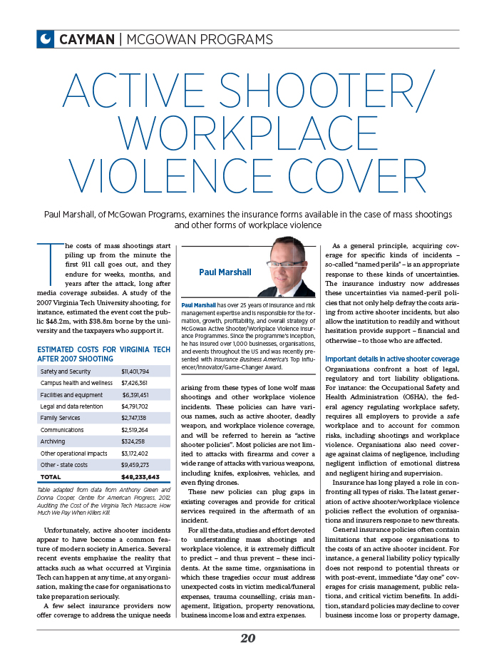 Cayman active shooter article