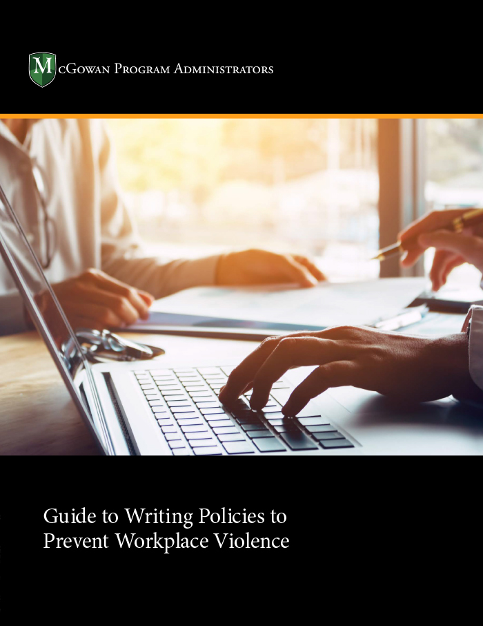 guide to writing policies to prevent workplace violence ebook