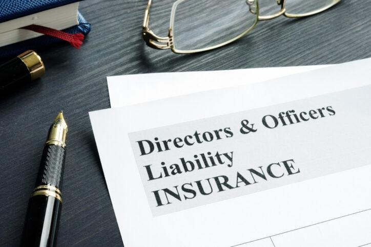 D&O liability insurance application form